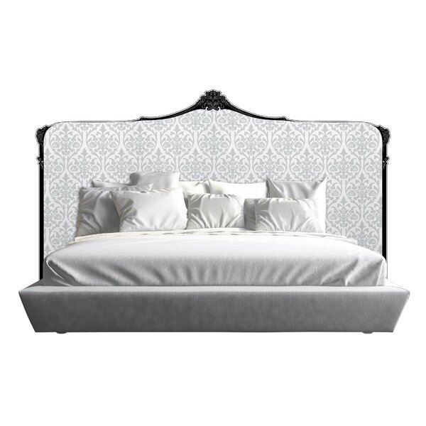 Bartlett Upholstered Panel Headboard by Fleur De Lis Living