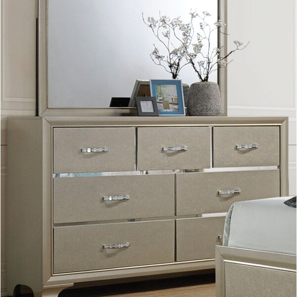 Ireland 7 Drawer Standard Dresser/Chest by House of Hampton