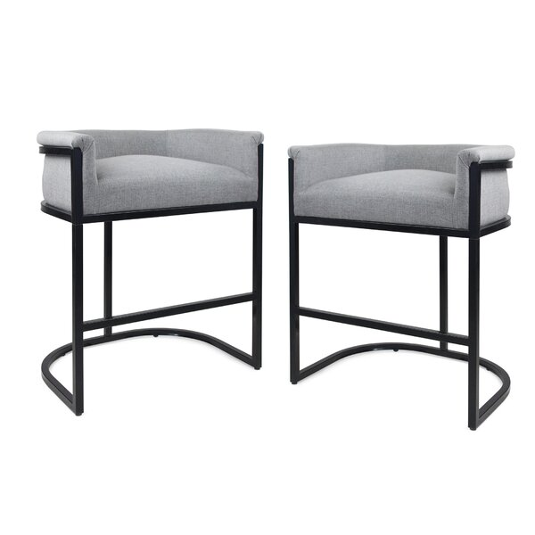 Mabie 30 Bar Stool (Set of 2) by Latitude Run