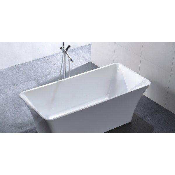 HelixBath Parva 67 x 31.5 Soaking Bathtub by Kardiel