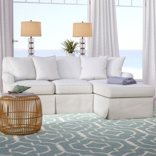 Rundle Reversible Sleeper Sectional with Ottoman by Beachcrest Home Beachcrest Home