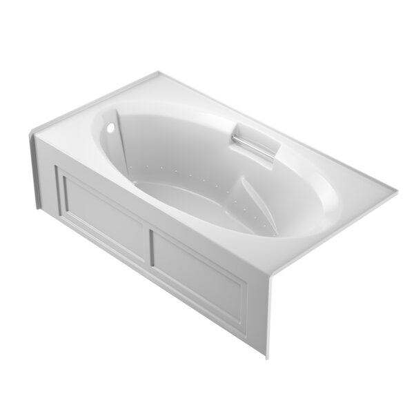 Nova Pure Left-Hand 72 x 36 Skirted Air Bathtub by Jacuzzi®