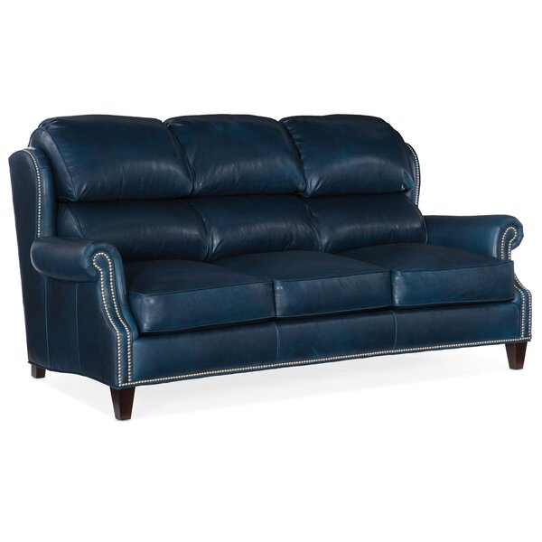 Taylor Leather Sofa By Bradington-Young