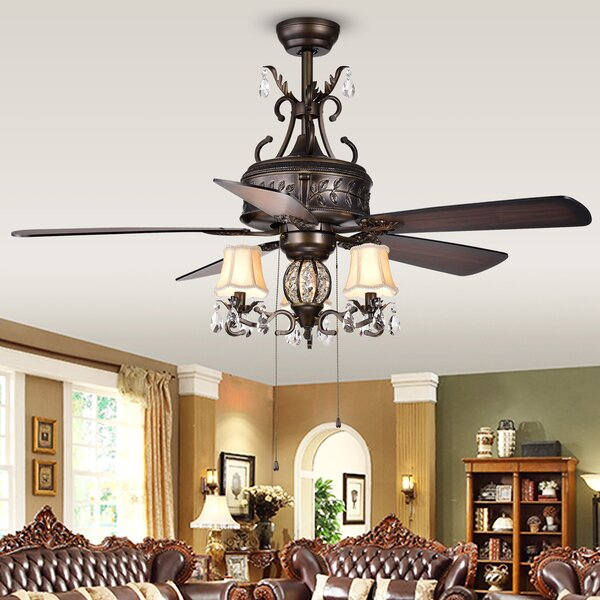 52 Sayre 5 Blade Ceiling Fan by Astoria Grand