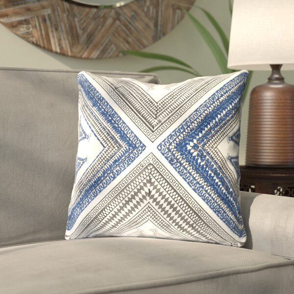 Amorita Throw Pillow Cover by Bloomsbury Market