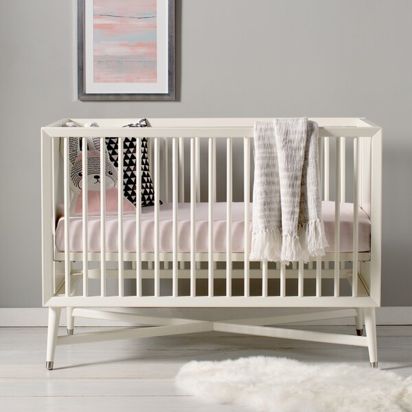 Mid-Century 3-in-1 Convertible Crib by DwellStudio