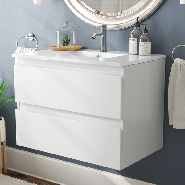 Kizzie 30 Single Bathroom Vanity by Orren Ellis