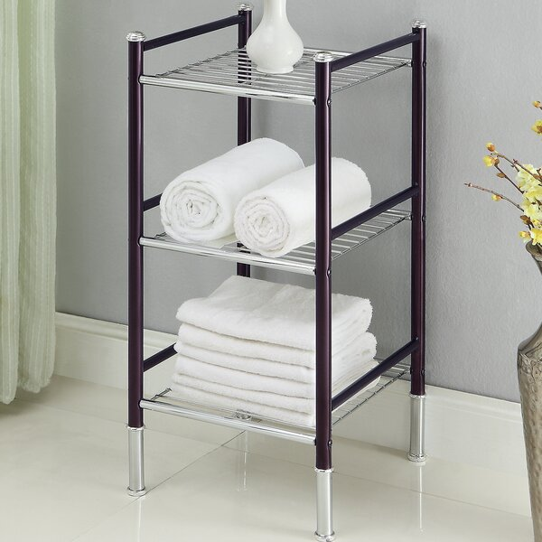 Duplex 14 W x 29.5 H Bathroom Shelf by Organize It All