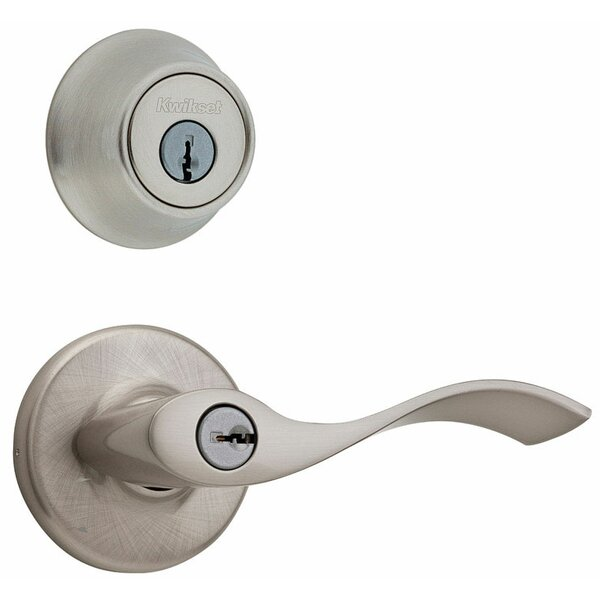 Balboa Keyed Knob Combo Pack by Kwikset