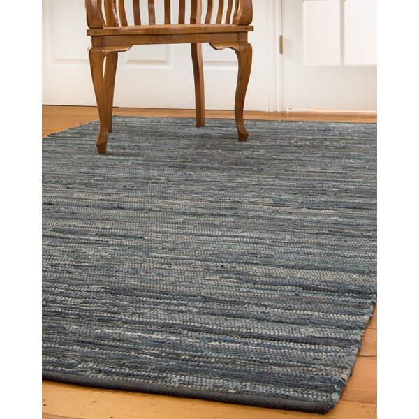 Montero Hand-Loomed Blue/Gray Area Rug by Natural Area Rugs