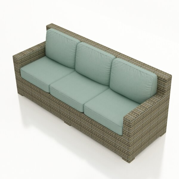 Dasaki Patio Sofa with Cushions by Wrought Studio