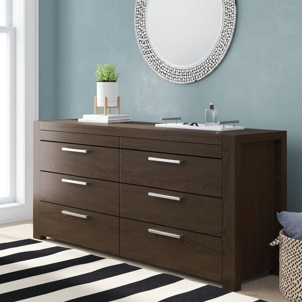 Sirena 8 Drawer Double Dresser by Brayden Studio