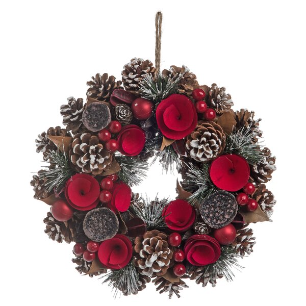 Elegant Flower 12 Wreath by The Holiday Aisle