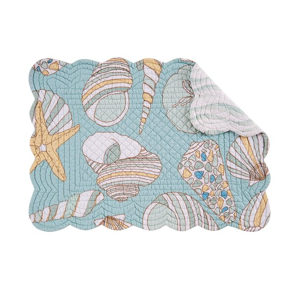 Platani Quilted Placemat (Set of 6) by Beachcrest Home