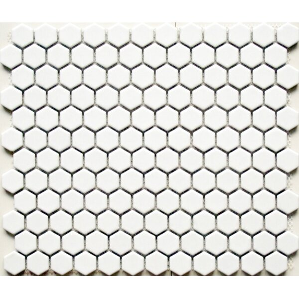 Value Series 1'' x 1'' Porcelain Mosaic Tile in Matte White by WS Tiles