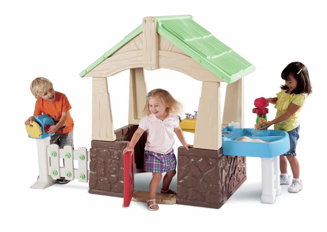 Little Tikes Deluxe Home And Garden Playhouse Amp Reviews