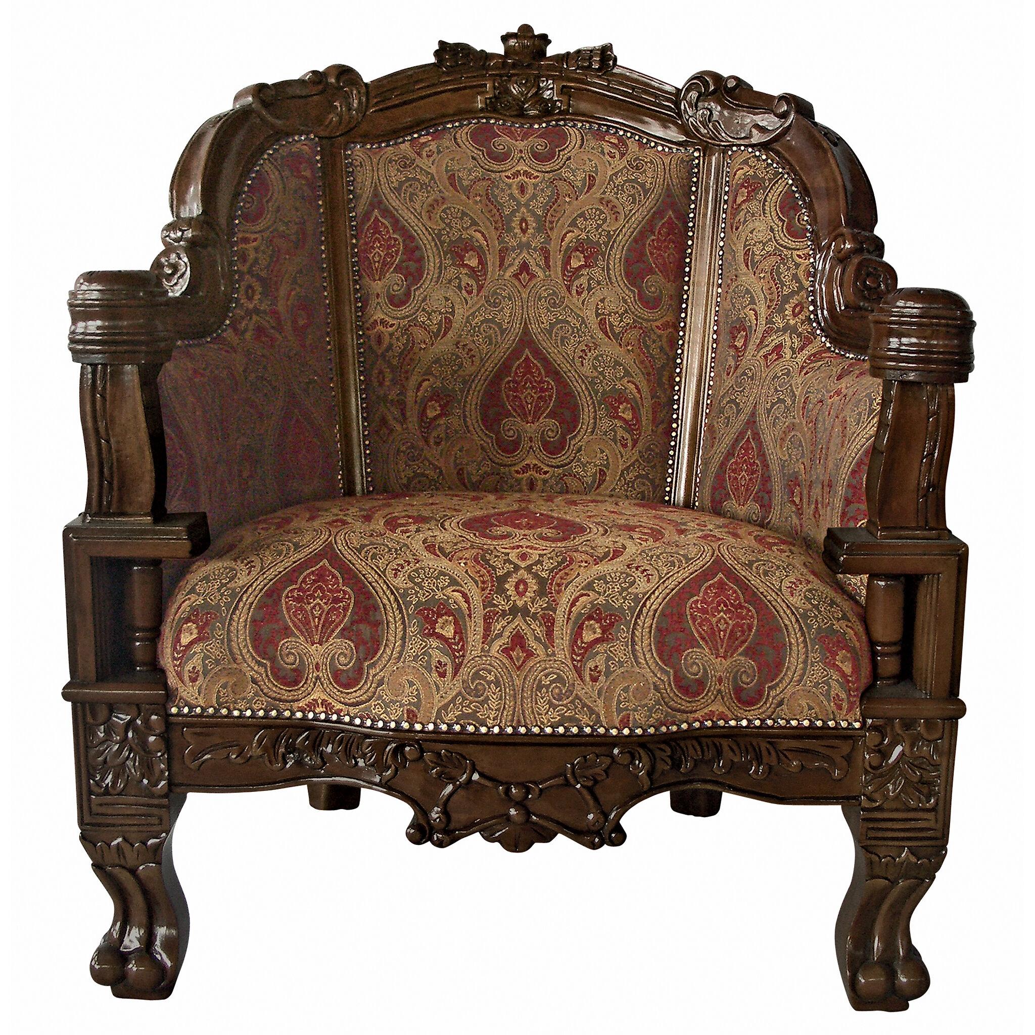 Design Toscano Gentlemens Drawing Room Chair