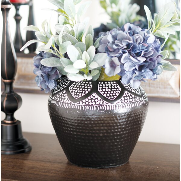 Gimenez Eclectic Iron Table Vase by Bungalow Rose