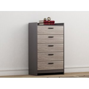 Central Park 5 Drawer Chest