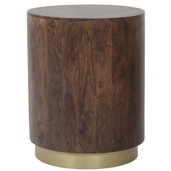 Cruz Drum End Table By Foundry Select