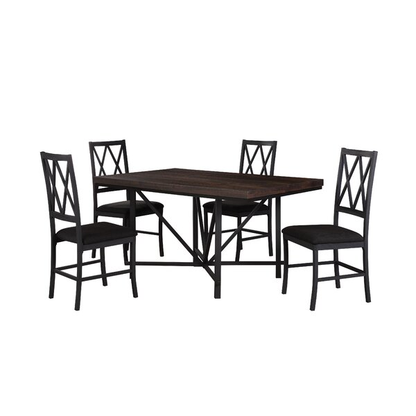 Cape 5 Piece Dining Set by Gracie Oaks