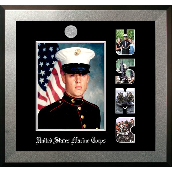 Marine Portrait Honors Picture Frame by Patriot Fr