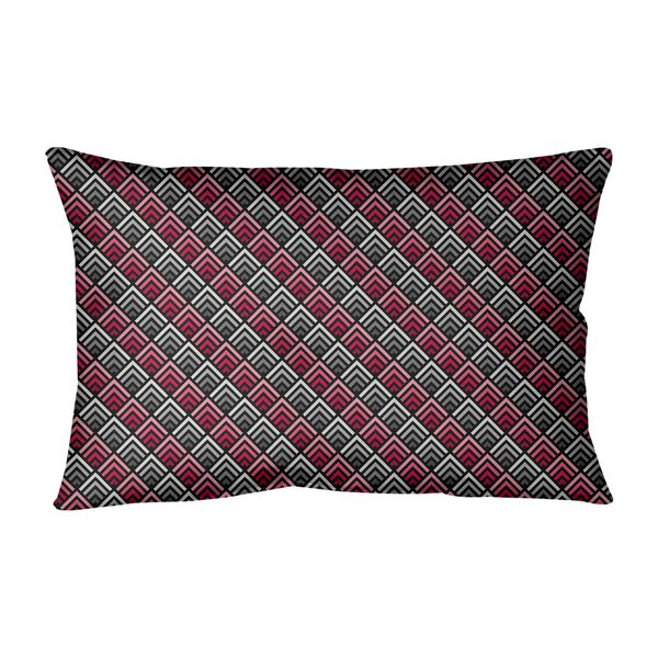 Avicia Indoor/Outdoor Geometric 21.5 Lumbar Pillow