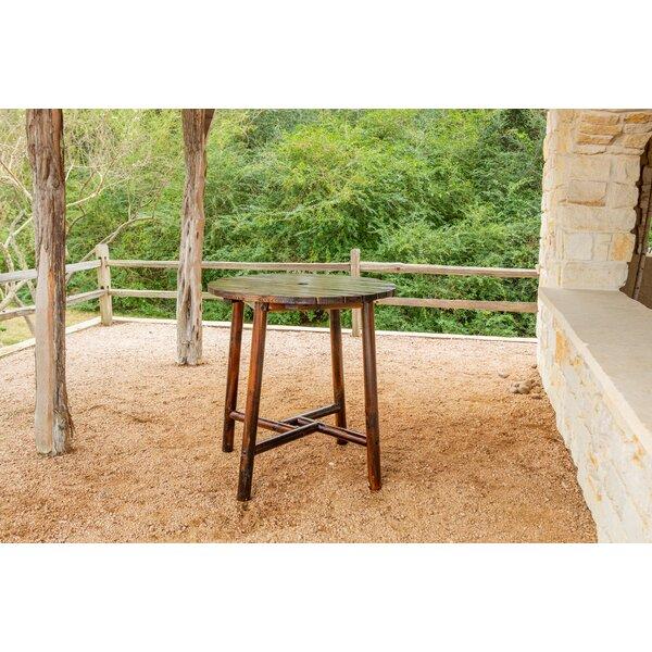 Ardoin Wooden Bar Table by Loon Peak Loon Peak