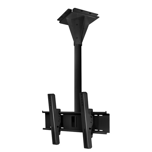 Wind Rated I-beam Tilt/Swivel Universal Ceiling Mount for 32 - 65 Flat Panel Screens by Peerless-AV