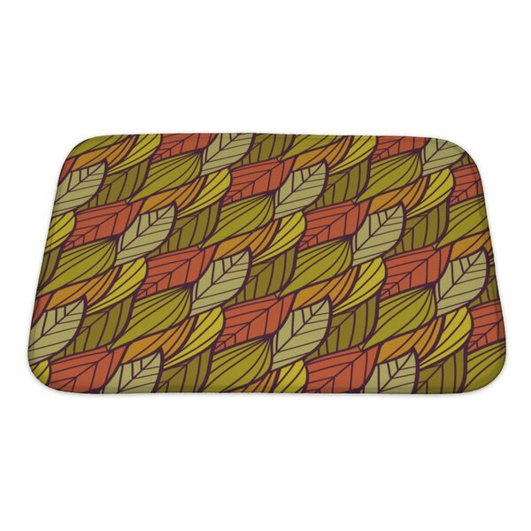 Charlie Autumn Pattern Bath Rug by Gear New