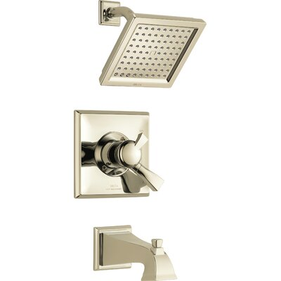 Shower Faucet Tub Handle Polished Nickel photo