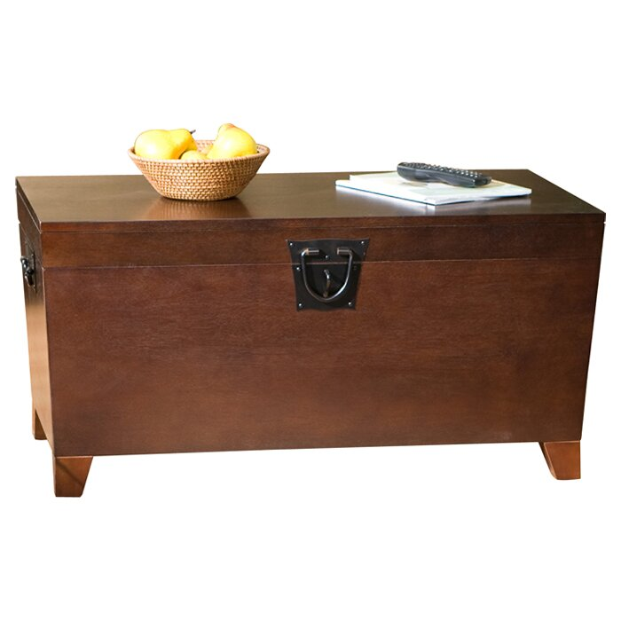 Charlton home bischoptree storage trunk coffee table for Wayfair coffee tables with storage