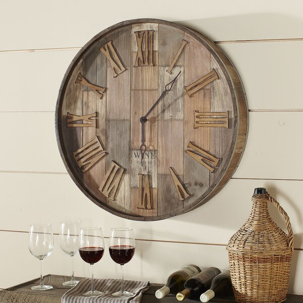 Malbec Wall Clock by Birch Lane™