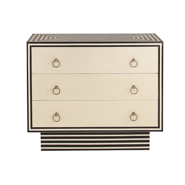 3 Drawer Dresser by Worlds Away Worlds Away