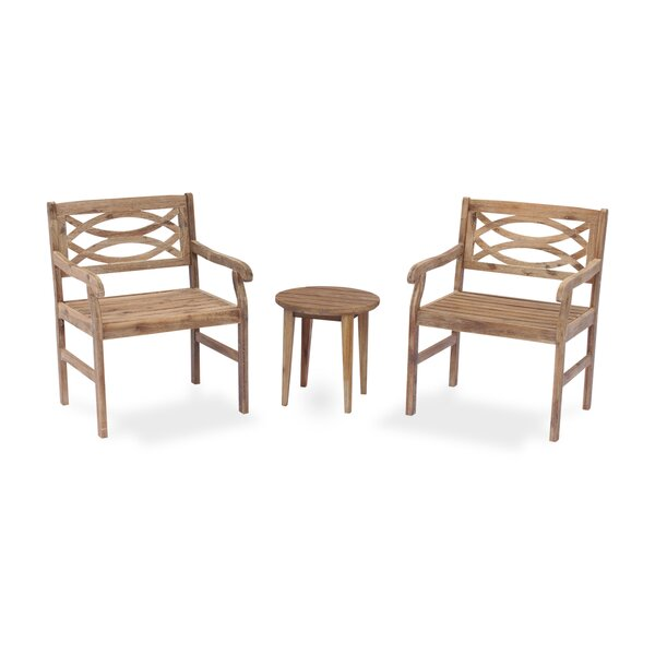 Nederland 3 Piece Dining Set by Highland Dunes