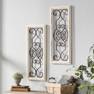 Wall dcor youll love wayfair ortie panel wall dcor teraionfo