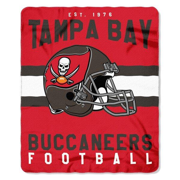 NFL Tampa Bay Buccaneers Printed Fleece Throw by Northwest