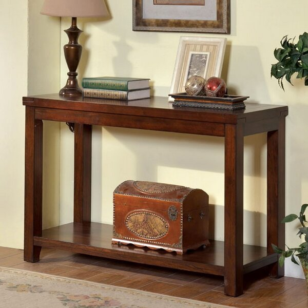 Review Natosha Transitional Console Table