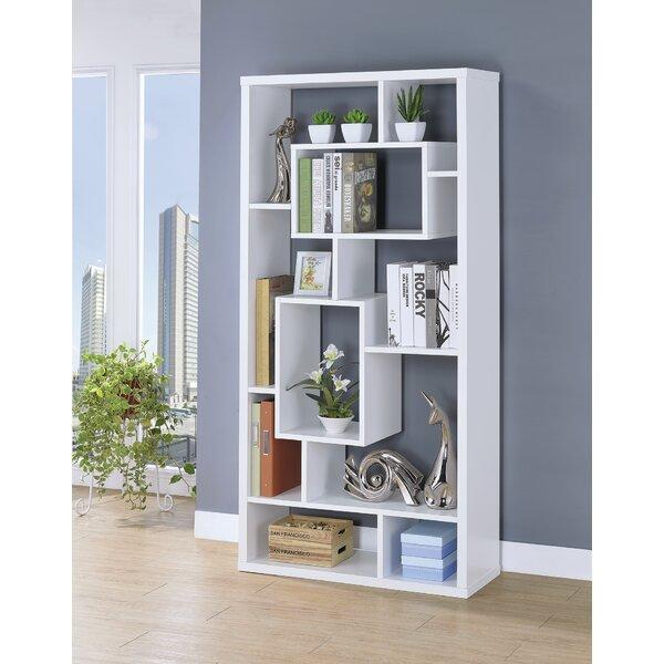 Kahleel Geometric Bookcase By Latitude Run