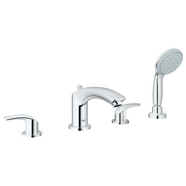 Eurosmart Tub and Shower Faucet with Rough-in Valve by GROHE GROHE