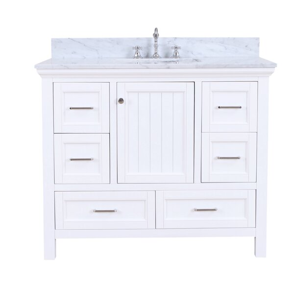 Paige 42 Single Bathroom Vanity Set by Kitchen Bath Collection
