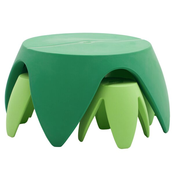 Blossom Kids 5 Piece Table and Stool Set by ECR4kids