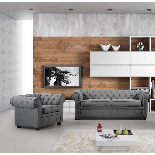 2 Piece Living Room Set by Velago
