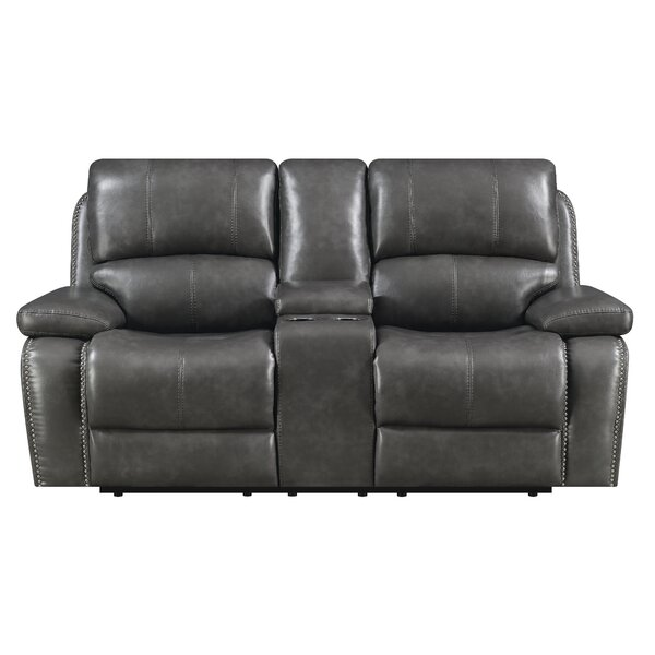Low Priced Nicastro Reclining Loveseat by Red Barrel Studio by Red Barrel Studio