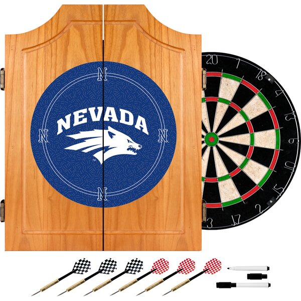 NCAA Dart Cabinet in Wood by Trademark Global