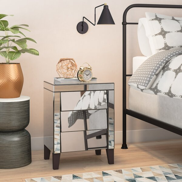 Osborn 3 Drawer Nightstand by Rosdorf Park