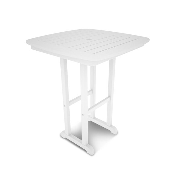 Nautical Plastic Bar Table by POLYWOOD®