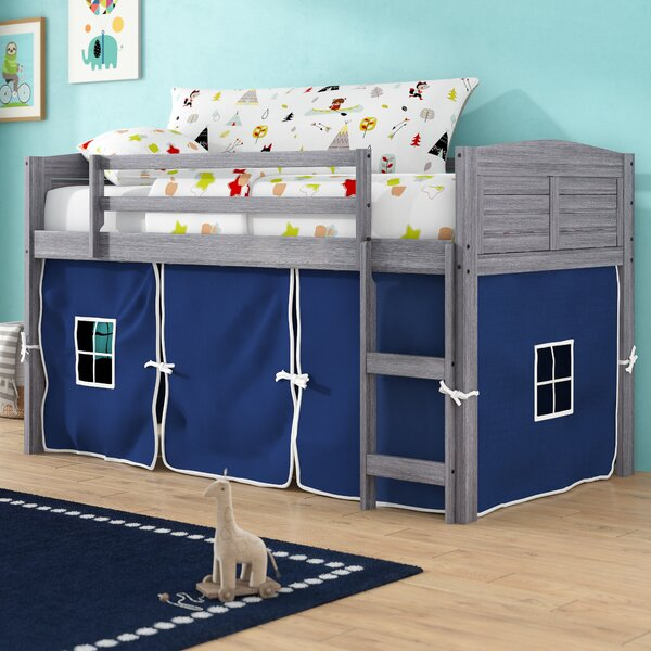 Coles Twin Low Loft Bed by Zoomie Kids