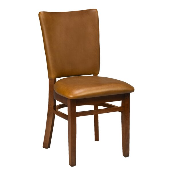 Beechwood Seat Upholstered Dining Chair by Regal