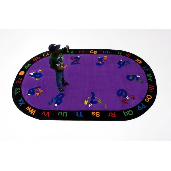 Counting Hands Kids Rug by Kids World Carpets